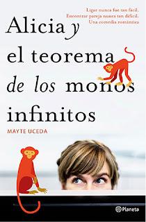 """""""Alicia y el teorema de los monos infinitos"""" de Mayte Uceda"""