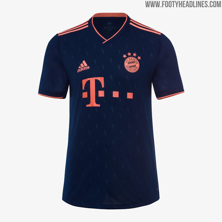 new arrival 2f295 197c0 Bayern Munich 19-20 Third Kit Released - Footy Headlines