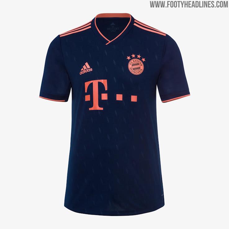 new arrival d19d7 5f9b8 Bayern Munich 19-20 Third Kit Released - Footy Headlines