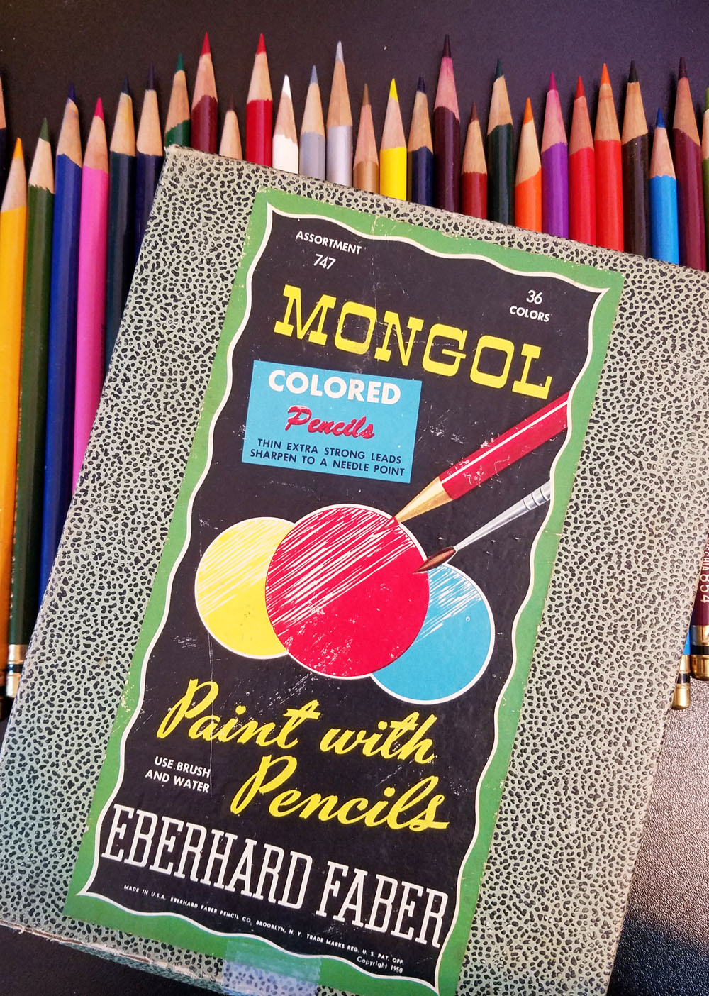 Fueled by Clouds & Coffee: My Best Colored Pencil Geek Moment