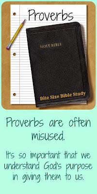 http://bitesizebiblestudy.blogspot.com/2014/03/ProverbsNotPromises.html