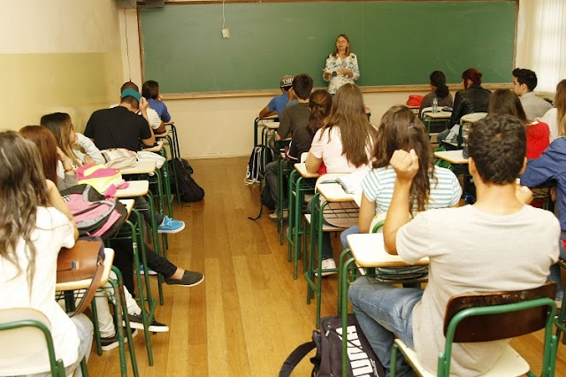 Um milhão de estudantes da rede estadual iniciam o ano letivo nesta segunda-feira