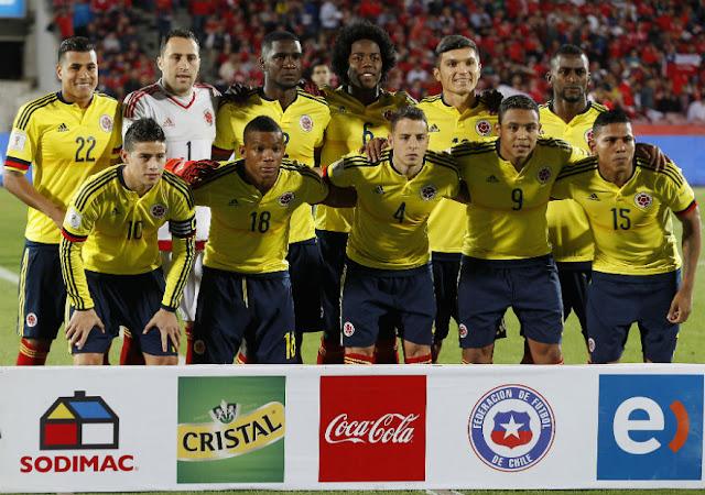 Formación de Colombia ante Chile, Clasificatorias Rusia 2018, 12 de noviembre de 2015