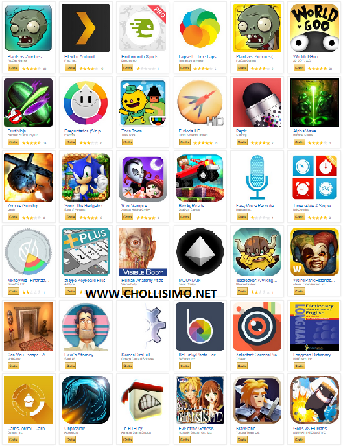 Pack de 41 APPs Gratis en Amazon