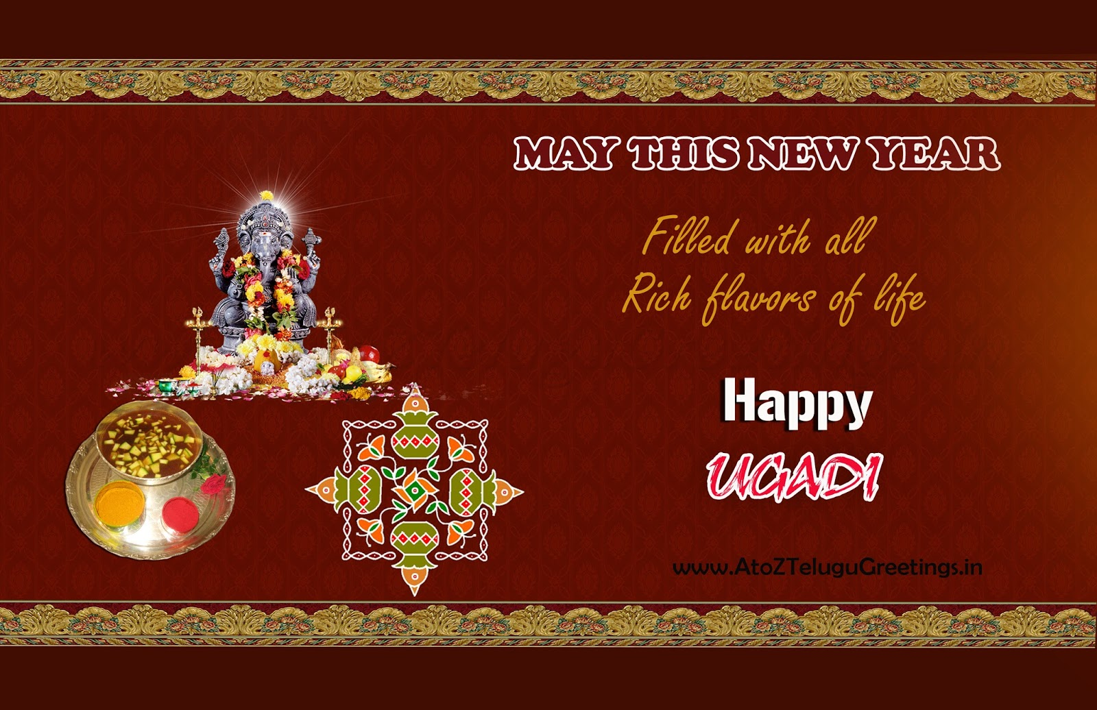 Happy ugadi new year wishes in english kristyandbryce Images