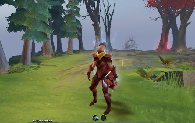 Mod Sabaku Archer Drow Ranger