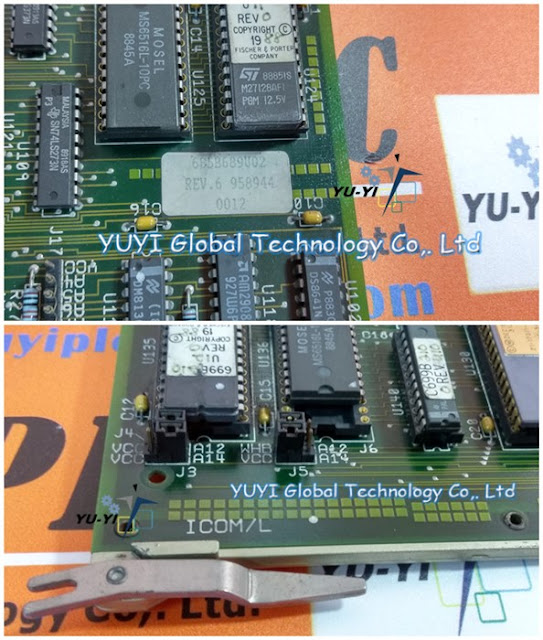 FISCHER & PORTER 685B689U02 PC BOARD ICOM/L