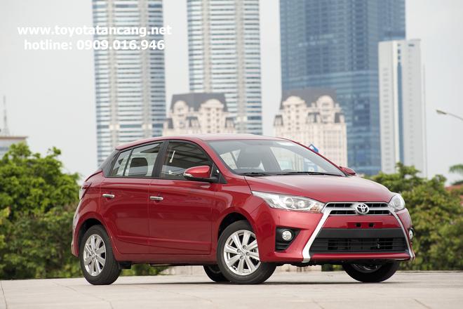 """toyota yaris 2015 toyota tan cang 2 -  - Giá xe Toyota Yaris 2015 nhập khẩu - """"Quả bom tấn"""" của dòng Hatchback"""