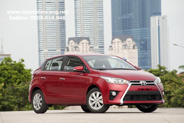 toyota yaris 2015 toyota tan cang 2 - So sánh Ford Fiesta và Toyota Yaris : Ai là Vua xe Hatchback cỡ nhỏ - Muaxegiatot.vn