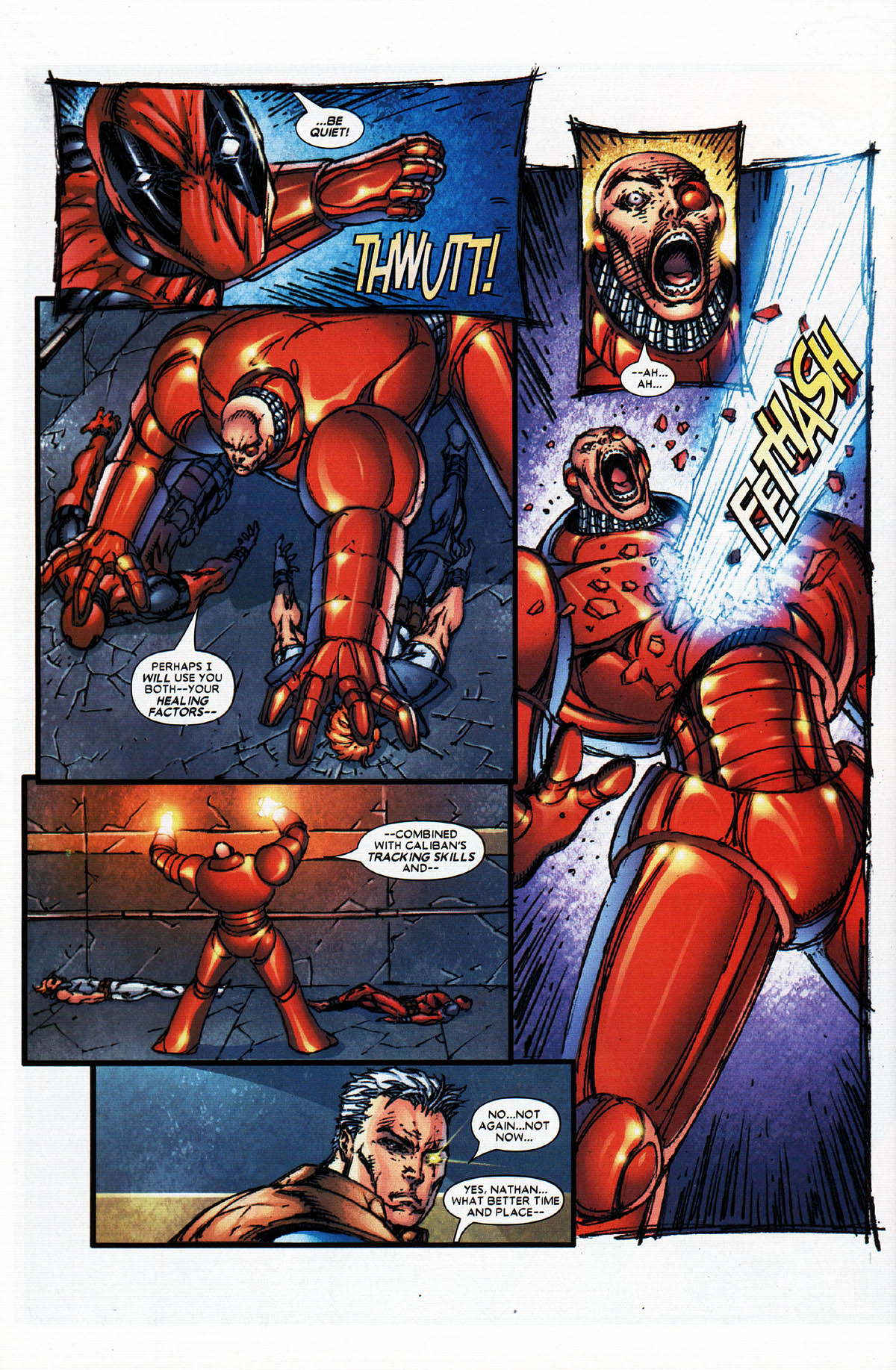 Read online X-Force (2004) comic -  Issue #4 - 29