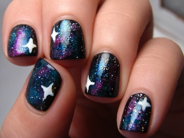 Galaxy Star Nails