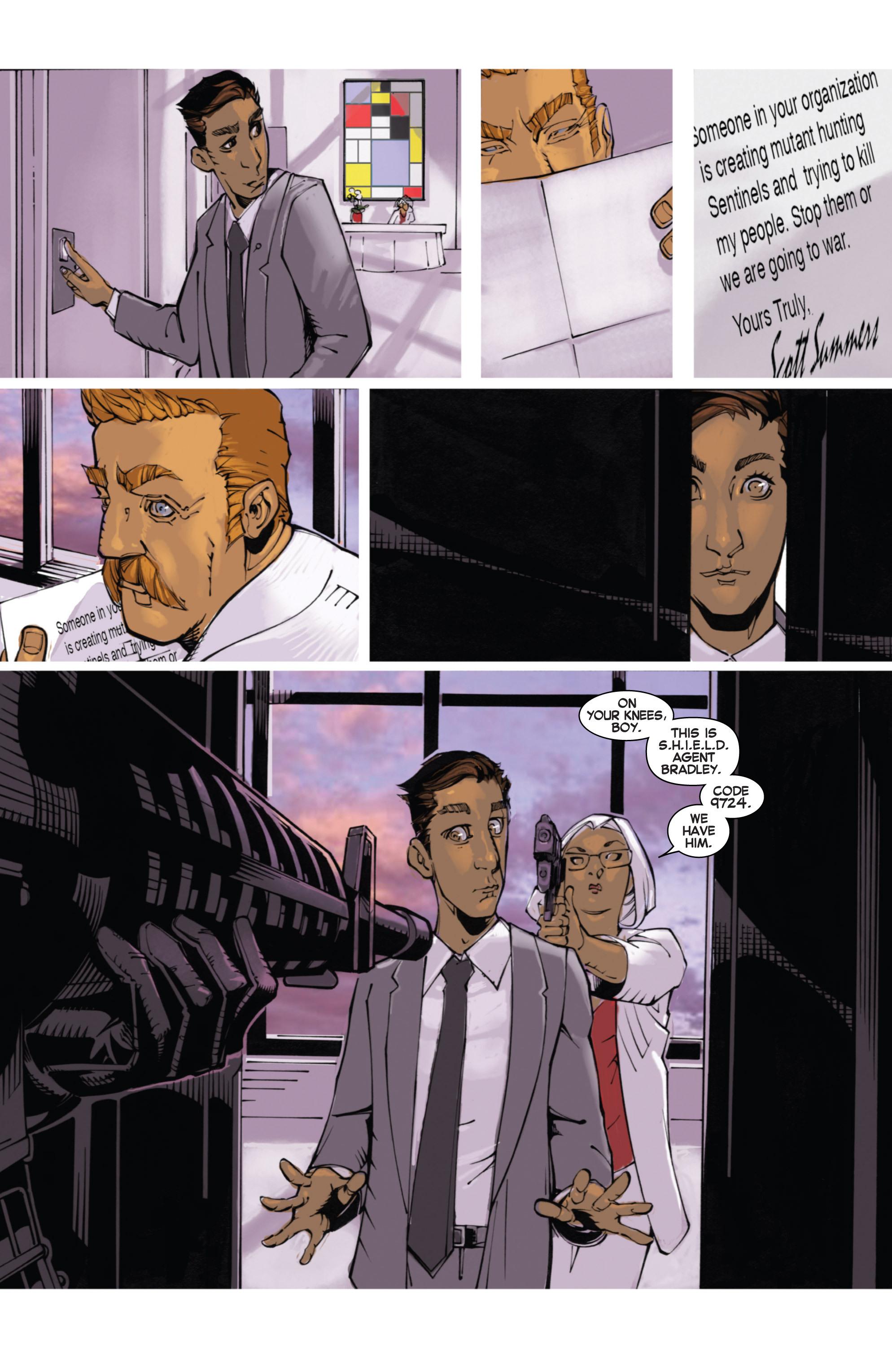 Read online Uncanny X-Men (2013) comic -  Issue #14 - 19