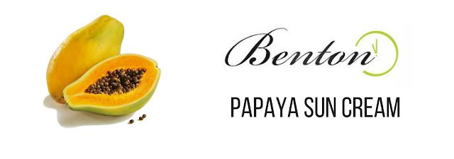 Benton Papaya Sun Cream  SPF38