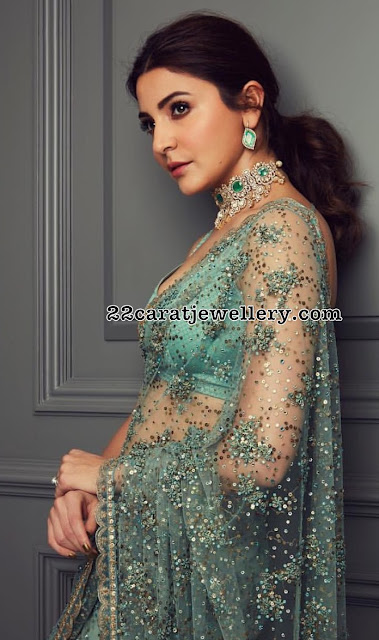 Anushka Sharma Polki Diamond Choker