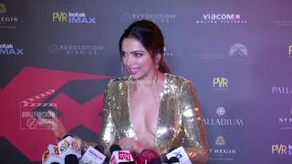 Deepika Padukone Promoting   Return of Xander Cage in India in Golde Gown 57 .xyz.jpg