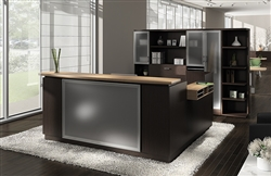 Global Total Office Zira Reception Desk