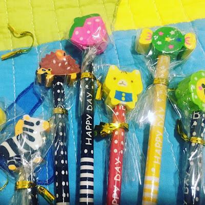 lápiz, lápiz decorado, lápiz infantil, lápiz divertido, lápices decorados, kimko,