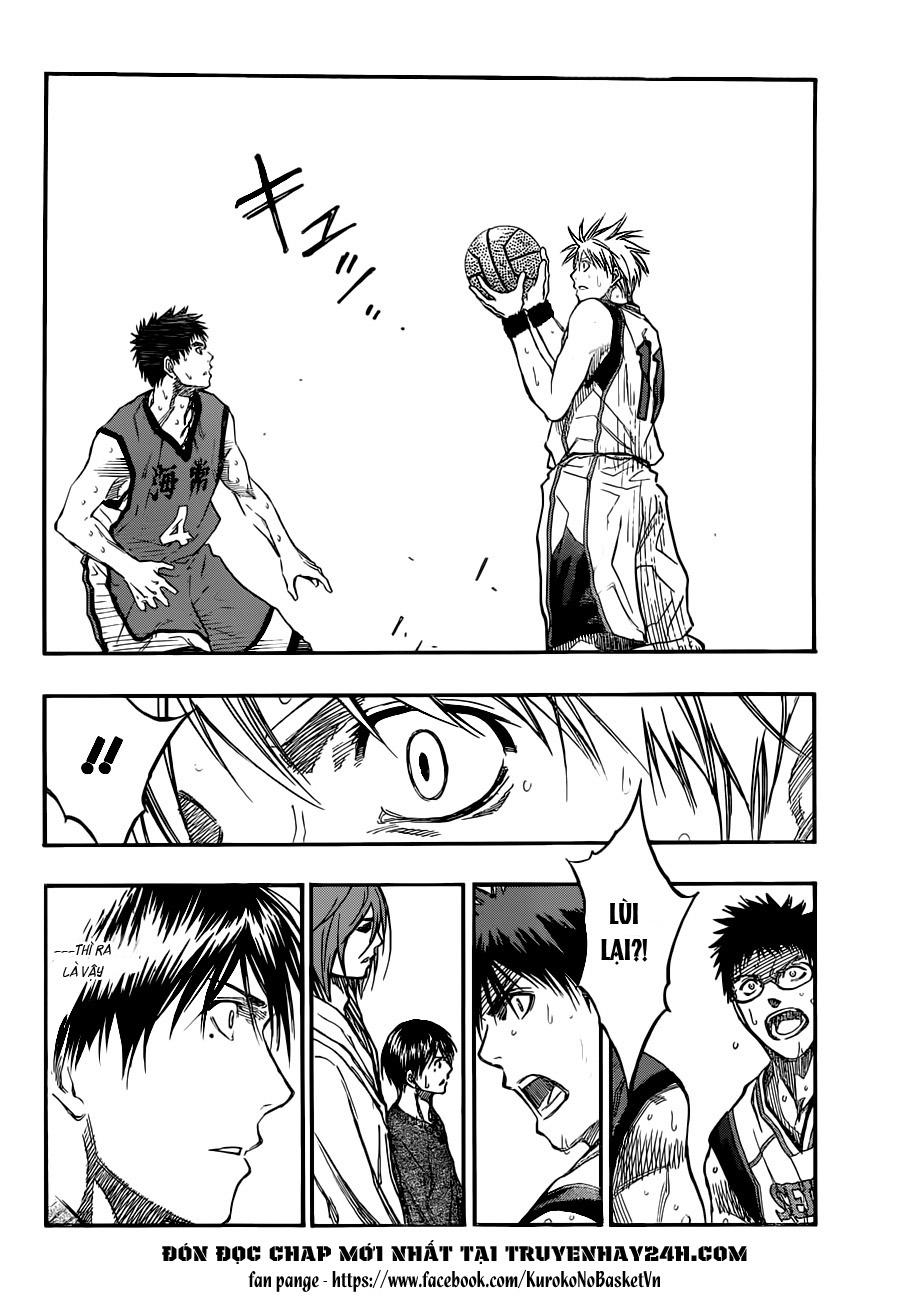 Kuroko No Basket chap 191 trang 10