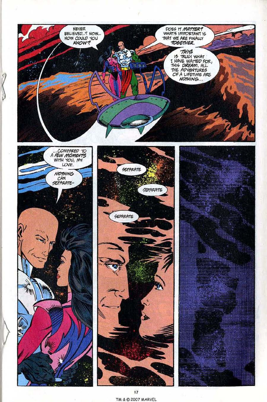 Read online Silver Surfer (1987) comic -  Issue #92 - 19