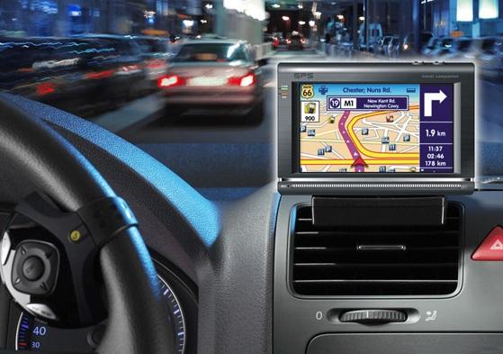 GPS ao alugar o carro no Canadá