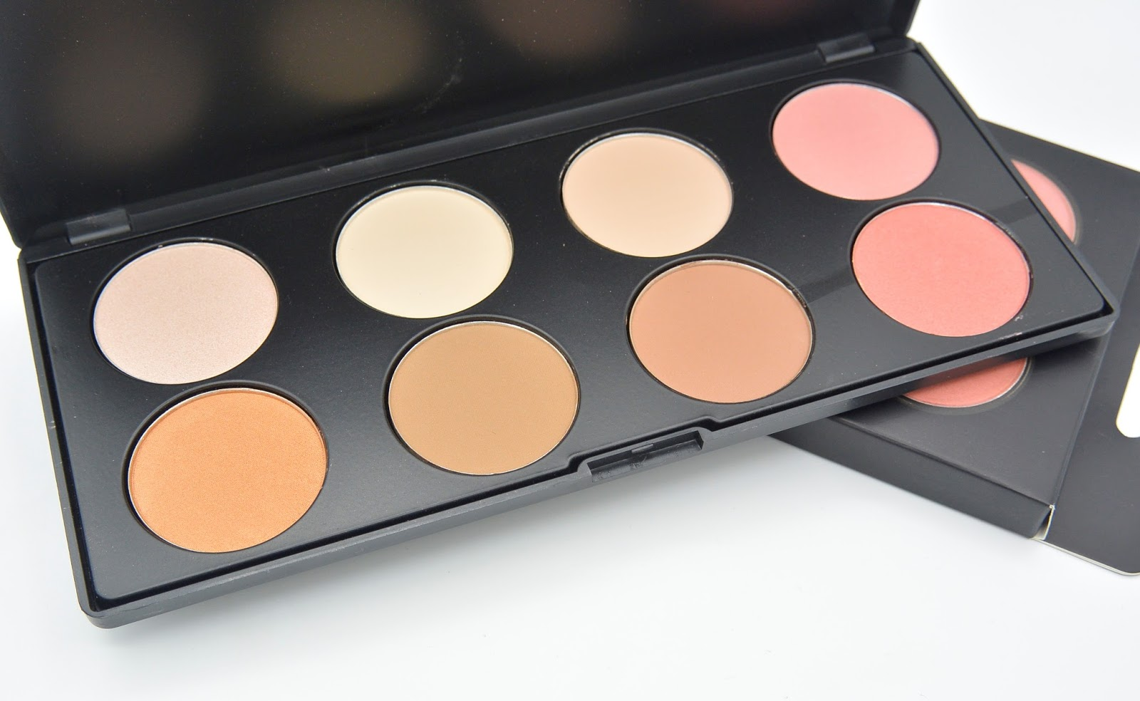 max more highlight foundation contour blush palette action review. Black Bedroom Furniture Sets. Home Design Ideas