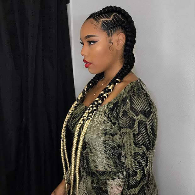 25+ Trendsetting Cornrow Braids Styles Ponytails To Copy In 2020