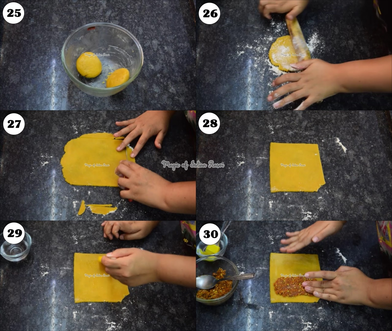 Soft Bhakarwadi (Baroda Style) Recipe - सॉफ्ट भाकरवड़ी (बड़ोदा स्टाइल) रेसिपी - Priya R - Magic of Indian Rasoi