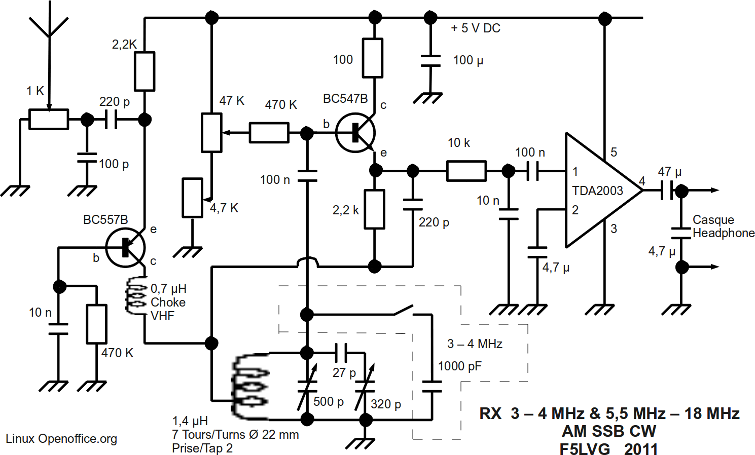 Simple Fm Receiver Circuit Schematic FM Transmitter