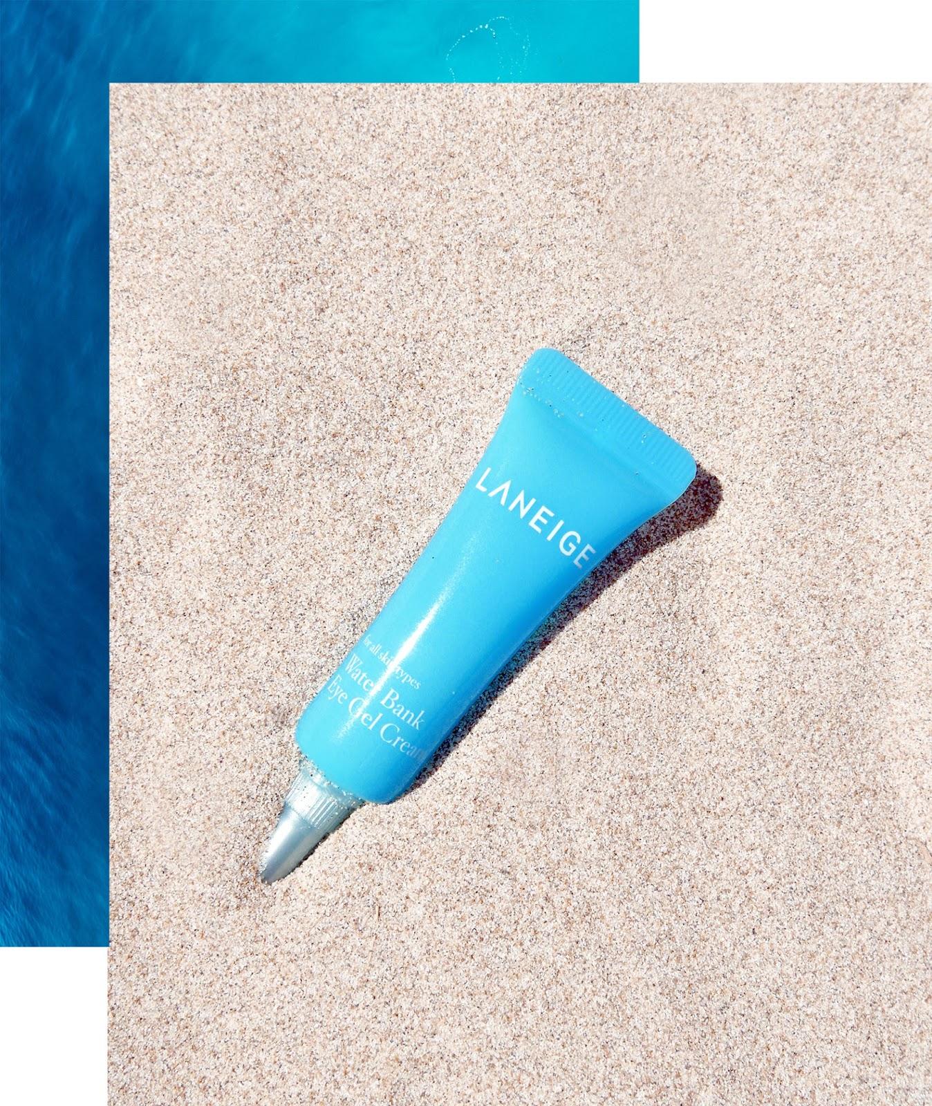 Euriental | luxury travel & style | travel beauty products, Laneige water bank eye gel
