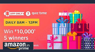 Amazon 10000 quiz time image