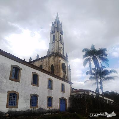 Santuário do Caraça, Serra do Caraça, Estrada Real, Caminho dos Diamantes