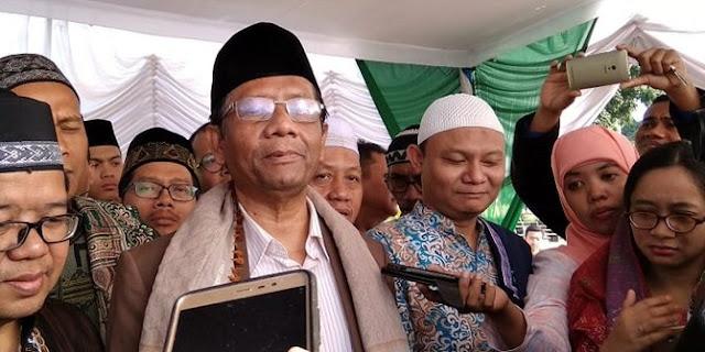 BPN Laporkan Jokowi ke Bawaslu, Mahfud MD Bilang Begini