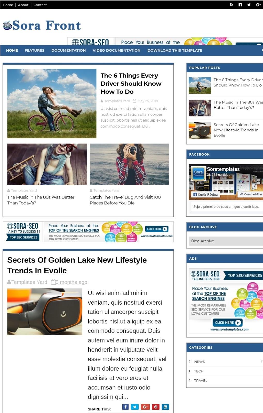zipp blogger template