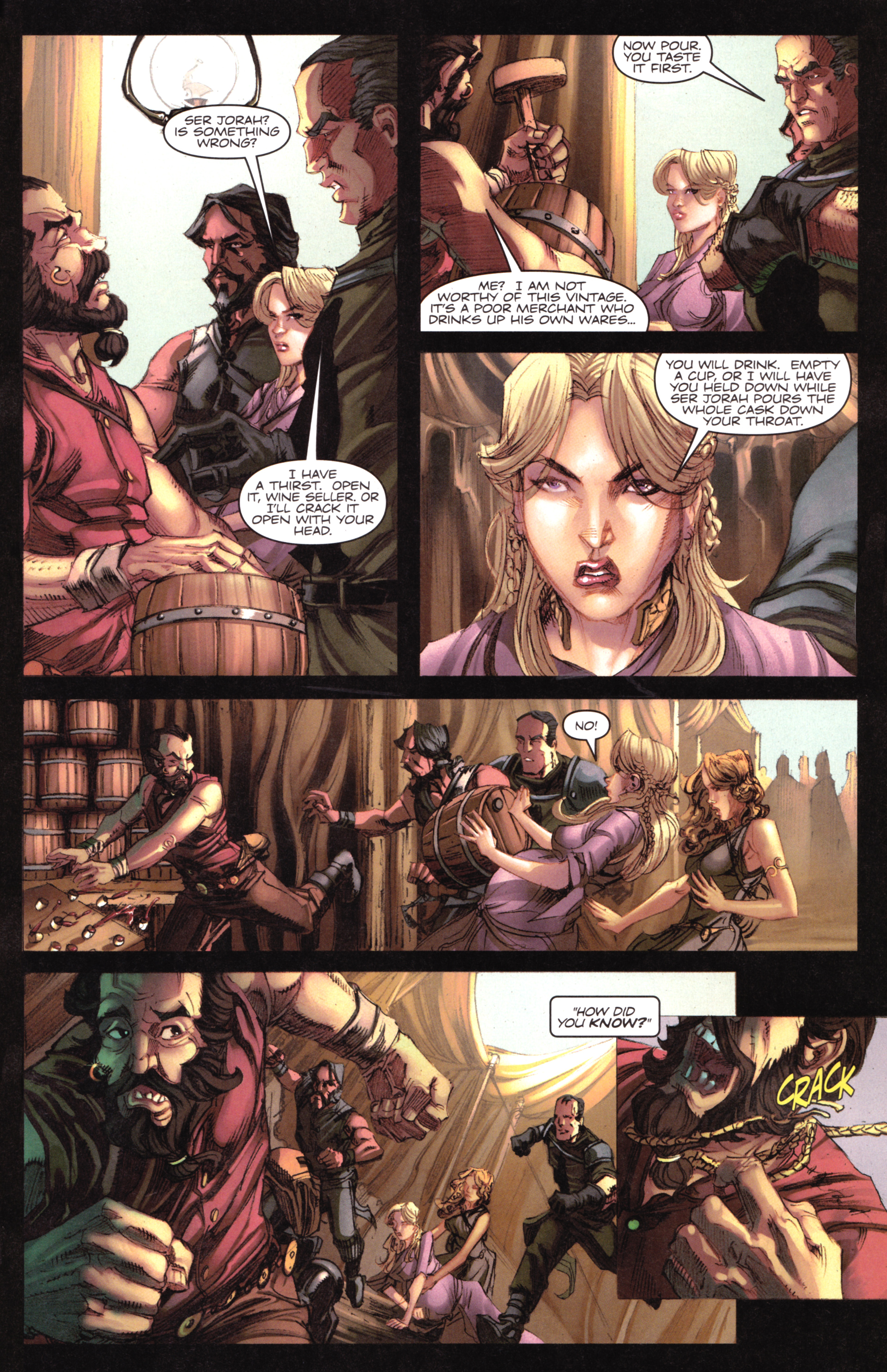 Read online A Game Of Thrones comic -  Issue #17 - 29