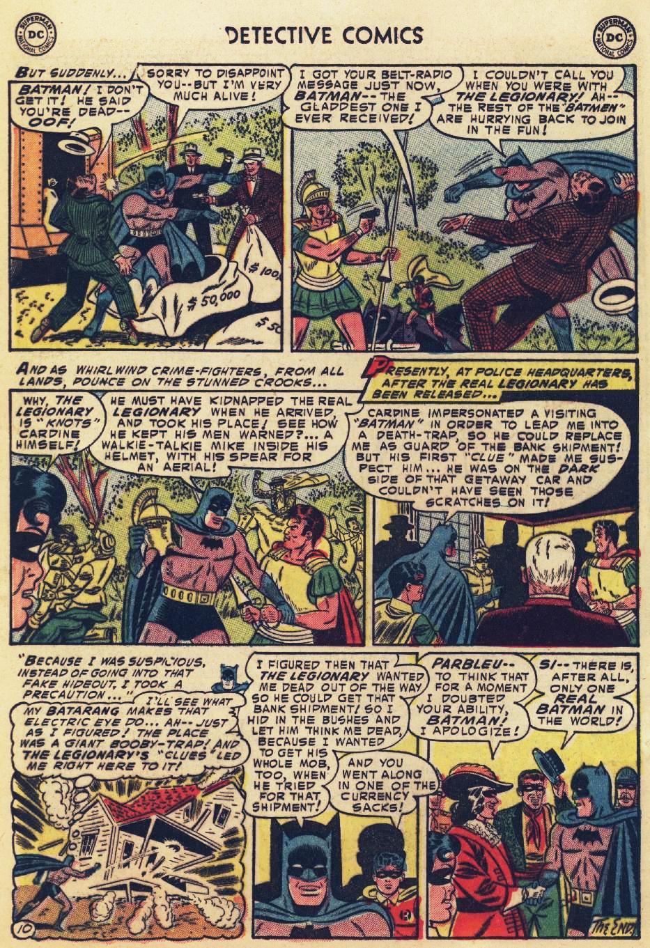 Read online Detective Comics (1937) comic -  Issue #215 - 12