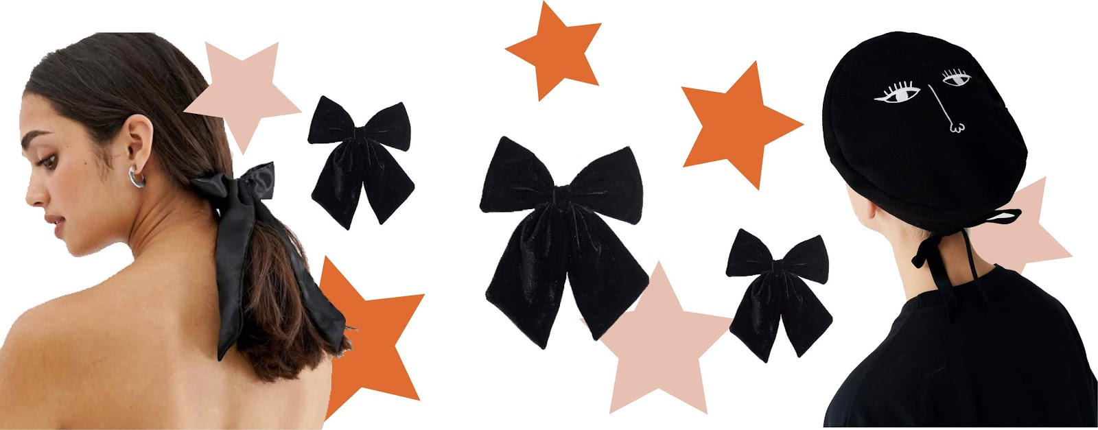2019 trends bows collage