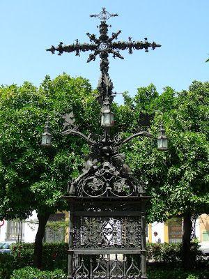 Cruz en Plaza Santa Cruz