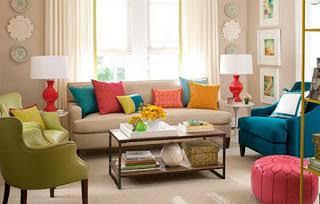Inspirasi Desain model sofa tamu warna-warni