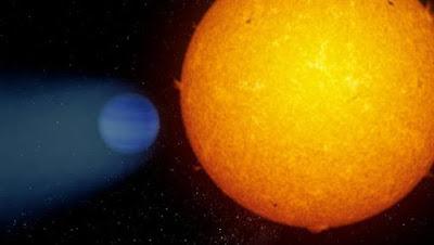 WASP 69b, el exoplaneta que parece un cometa