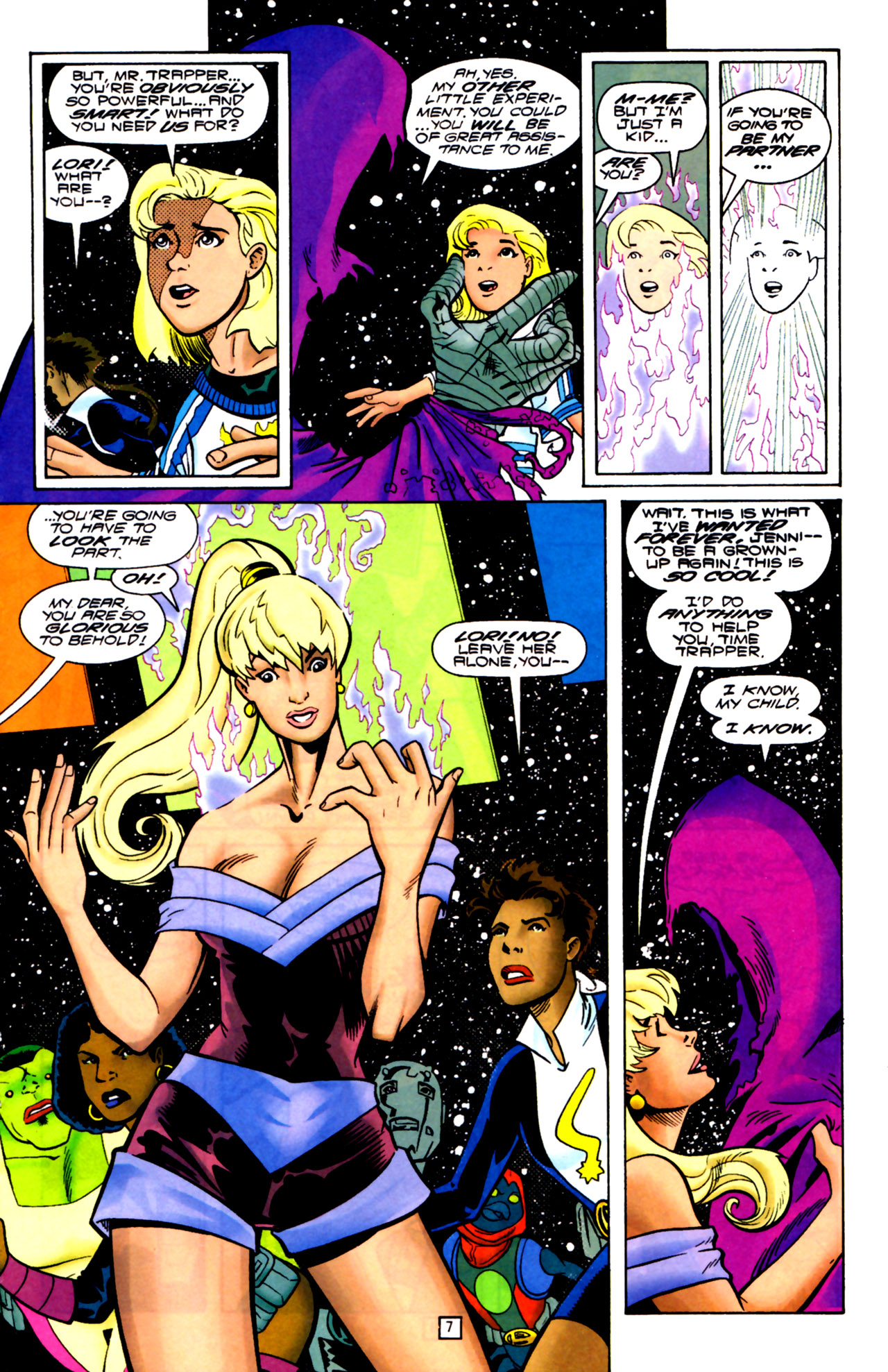Legion of Super-Heroes (1989) 105 Page 6