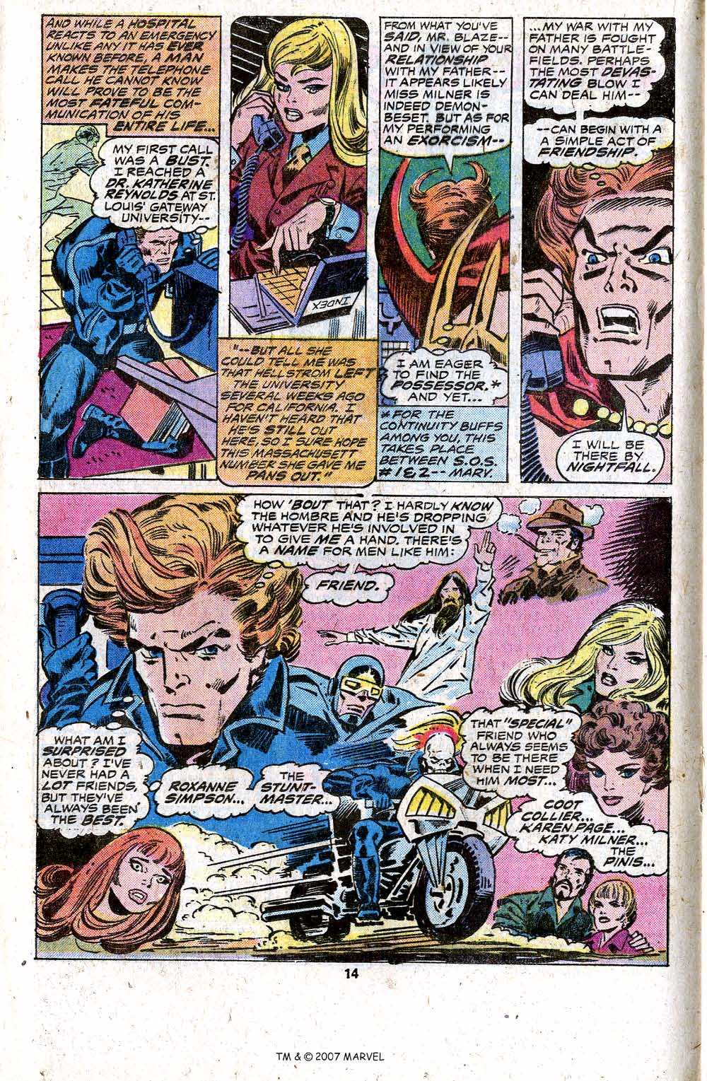 Ghost Rider (1973) Issue #17 #17 - English 16