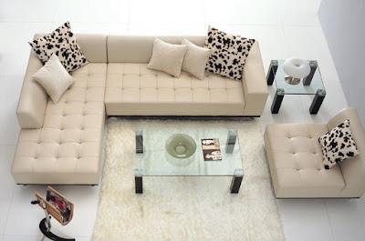 sofa sudut untuk rumah minimalis