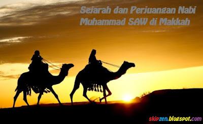 Makalah Sejarah dan Perjuangan Nabi Muhammad SAW di Makkah