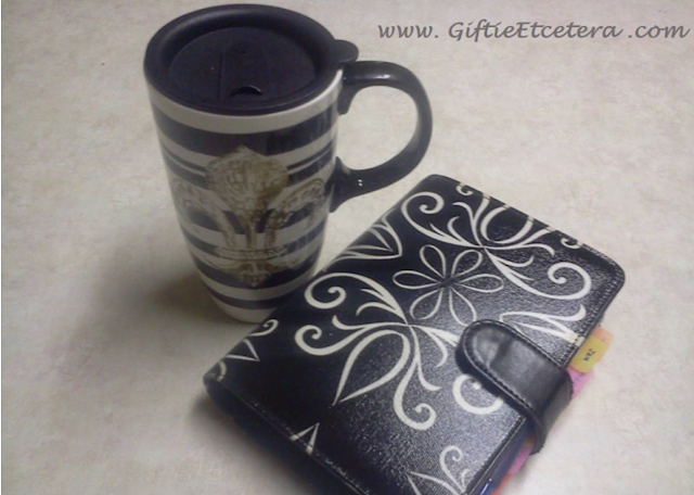 coffee, planner, coffee and a planner