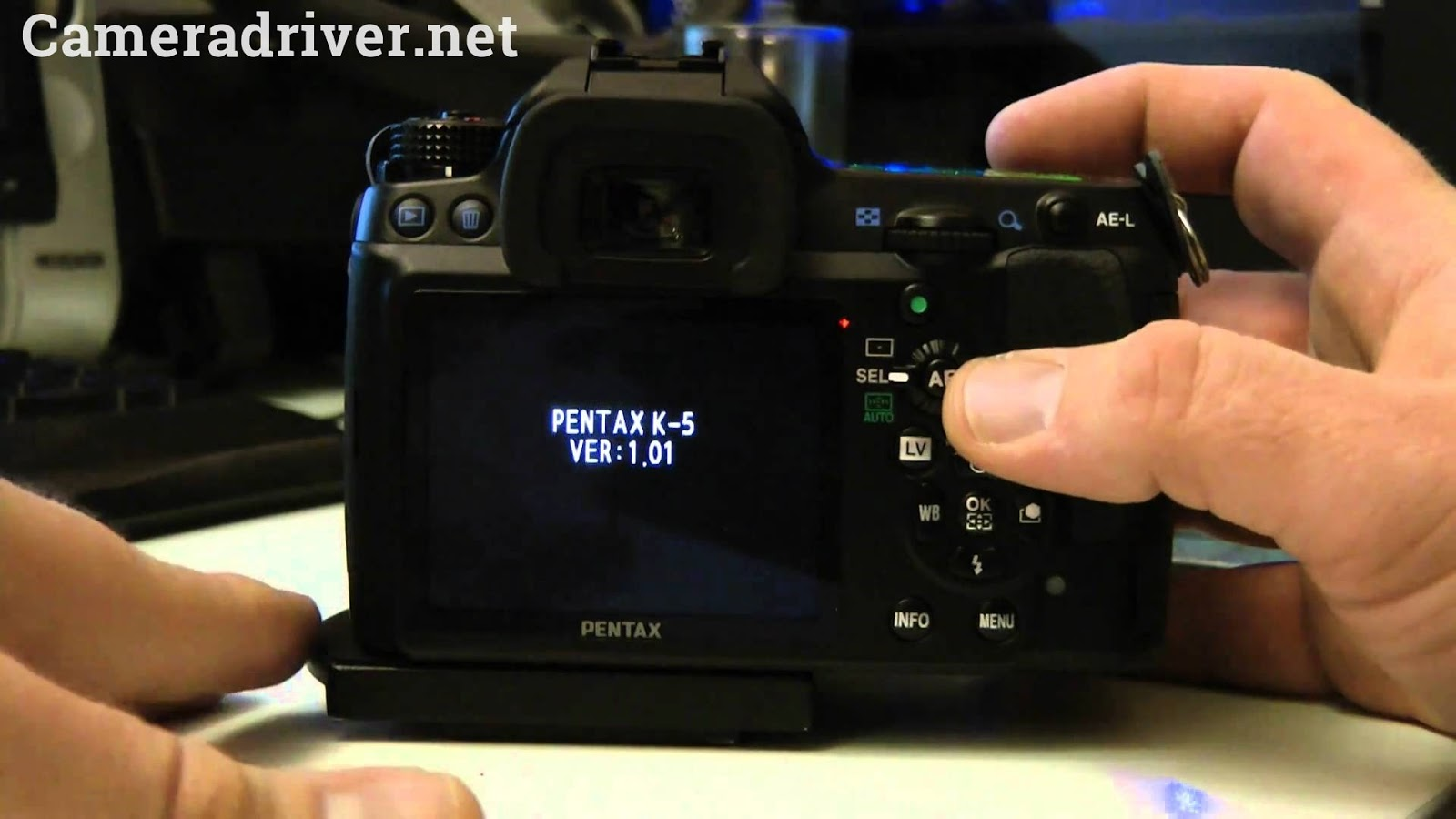 Take a Look More about Software and Firmware Download of Pentax K-5