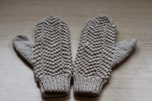 KAL Raw Honey Mittens