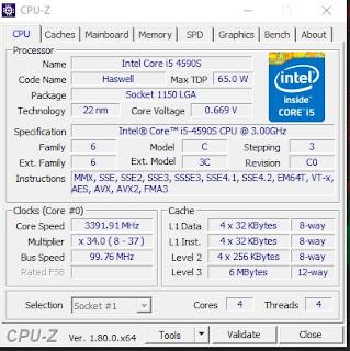 Cara Terbaik Mengetahui Spesifikasi PC atau Laptop Paling Lengkap