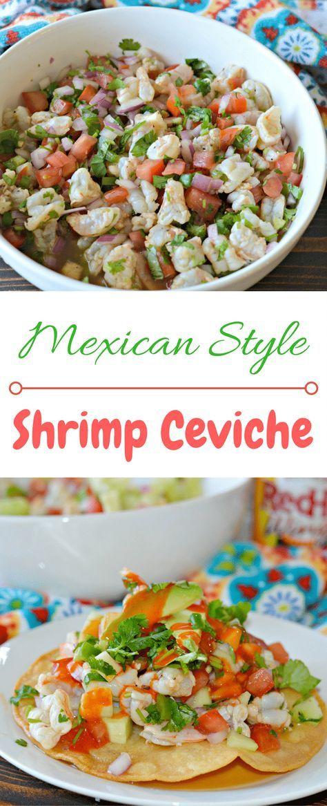 Shrimp Ceviche – Mexican Style Ceviche