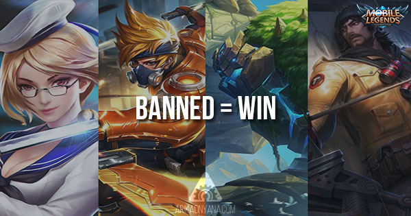 4 Hero Mobile Legends Yang Wajib Banned Saat Main Ranked