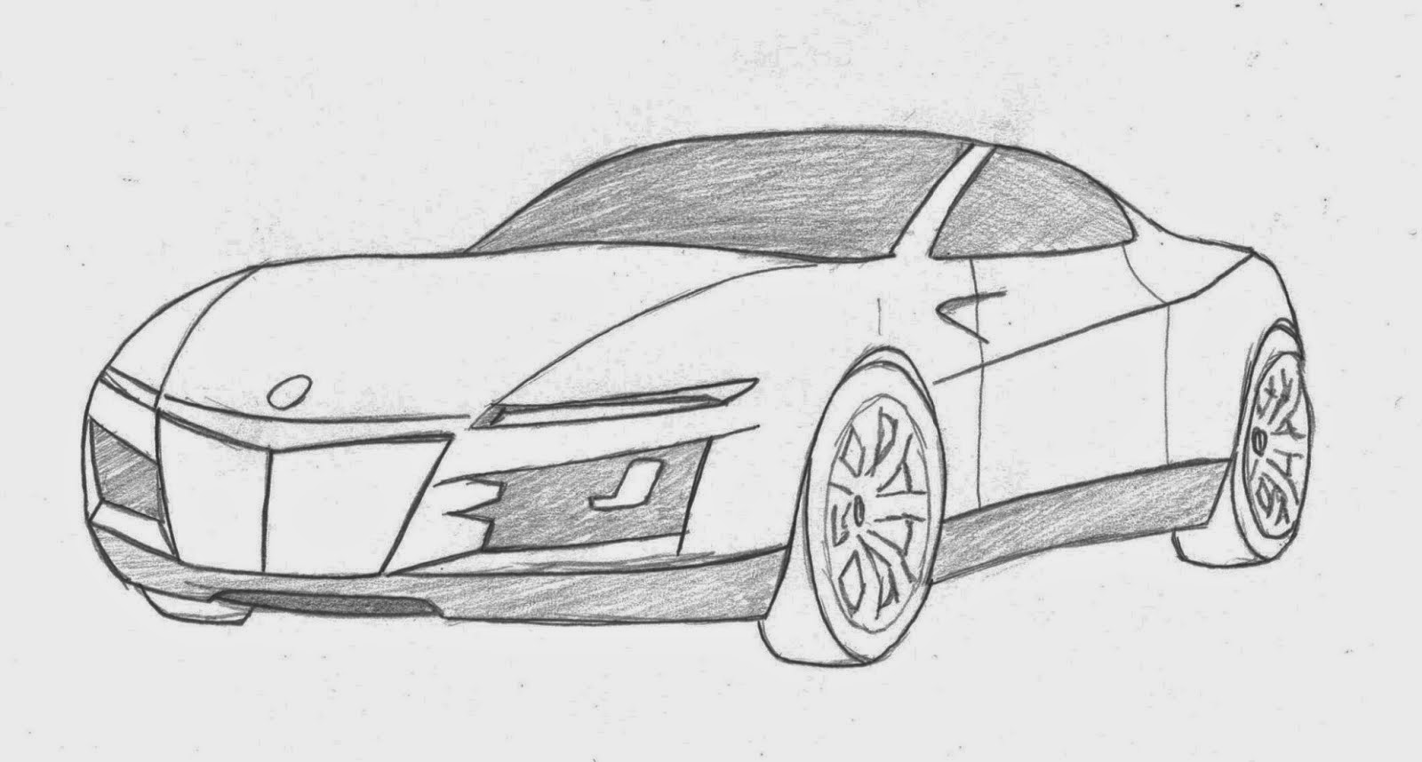 My Lamborghini Aventador Graphite Drawing By Vinjiro On